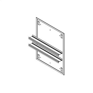 """Profiles 23-1/4"""" X 30"""" X 15/16"""" Mirror Ganging Kit for A Seamless Transition With Profiles Cabinets and Profiles Lighting (depth Is 4-11/16"""" When Surface-mounted) Product Image"""