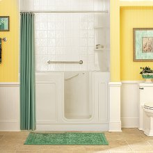 Luxury Series 32x60-inch Whirlpool Walk-in Tub  American Standard - Linen