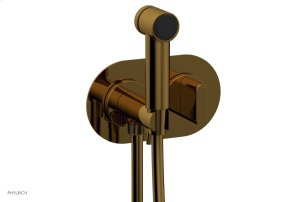 ROND Wall Mounted Bidet, Blade Handle 183-64 - French Brass Product Image