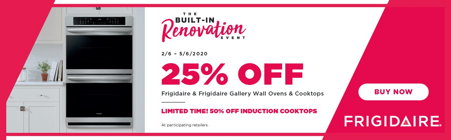 Frigidaire Built-In Renovation Event 2020