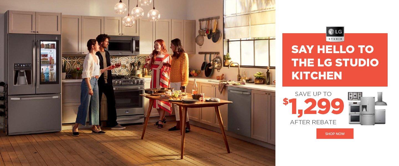 Say Hello to The LG Studio Kitchen Jan 2020
