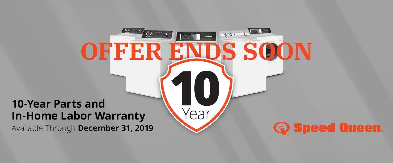 Speed 10 Year Warranty 2019