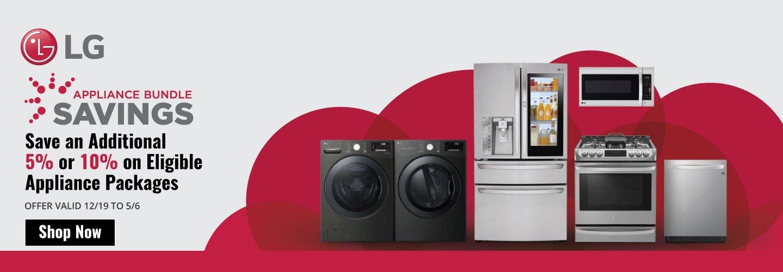 LG Appliance Bundle Savings