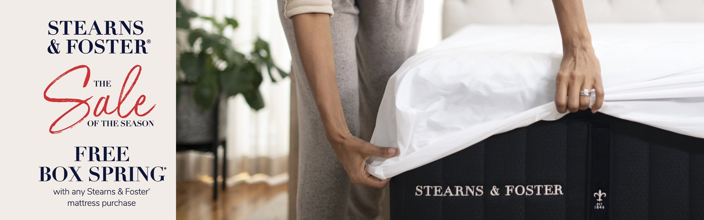 Stearns & Foster Sale of the Season 2019
